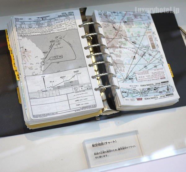 JAL 「SKY MUSEUM」 仕事紹介エリア 航空地図
