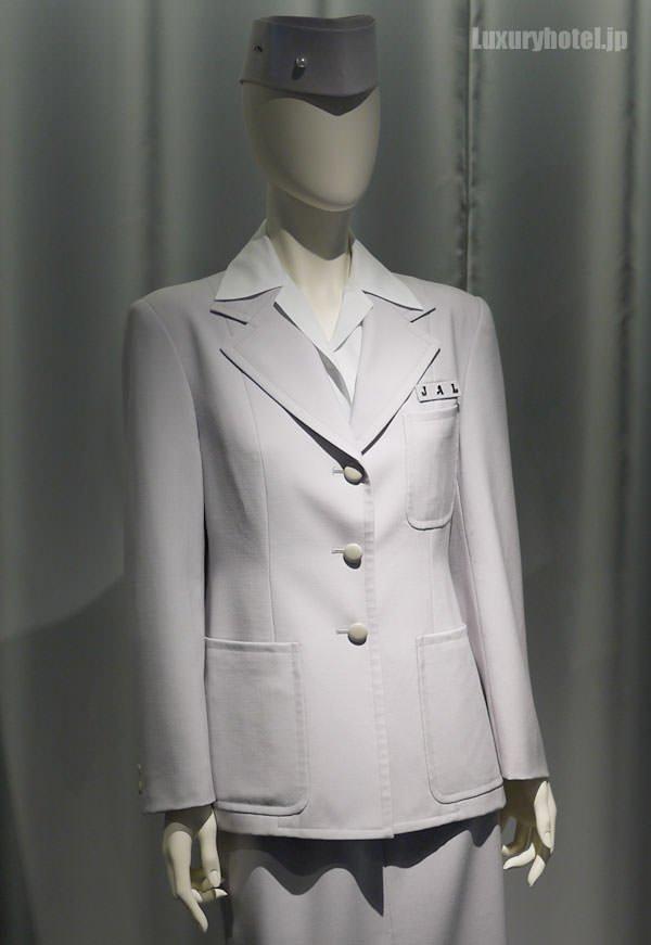JAL SKY MUSEUM 初代スチュワーデス制服