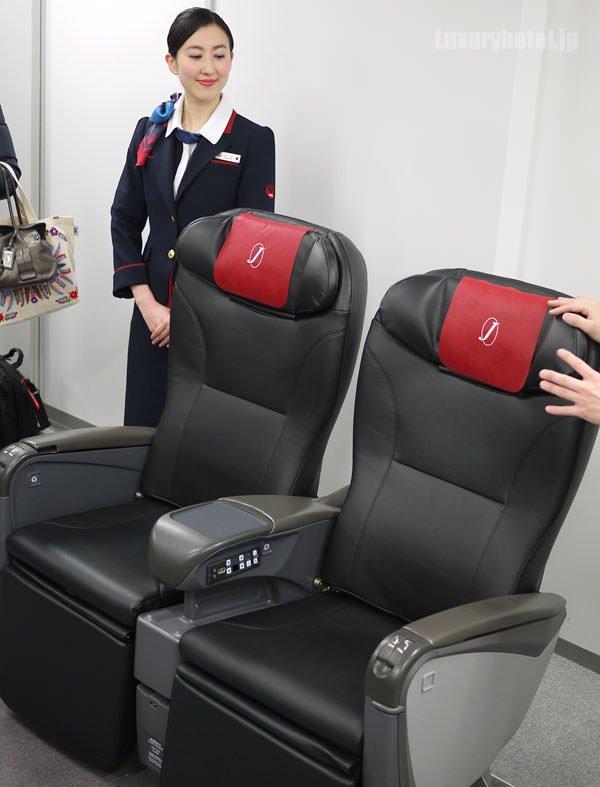 JAL特別見学会 シートモックアップ 「JAL SKY NEXT」新クラスJ