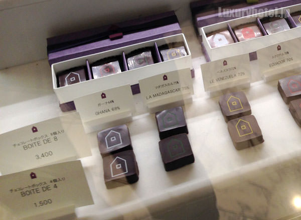 マンダリン オリエンタル 東京 グルメショップ リニューアルされたチョコレート