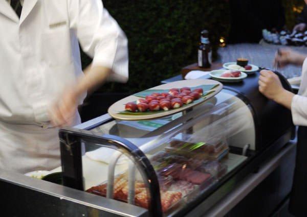 六緑 寿司カウンター