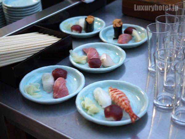六緑 テラスの寿司