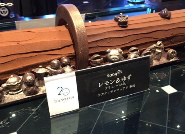ウェスティンホテル東京 開業20周年の20メートルのケーキ レモン&ゆず