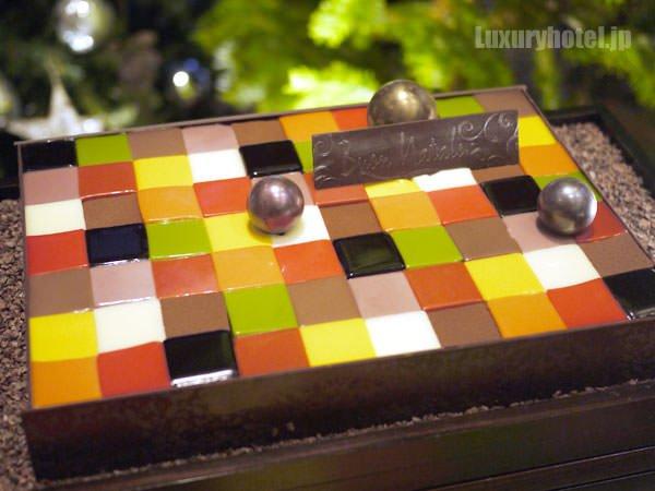 グランド ハイアット 東京 モザイクケーキ 全体画像