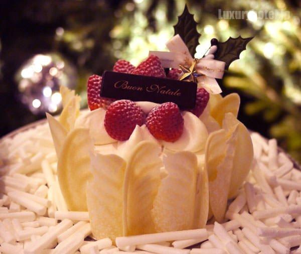 グランド ハイアット 東京 ストロベリーショートケーキ 全体画像