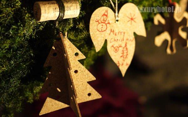 グランド ハイアット 東京 クリスマスツリーのコルクオーナメント1