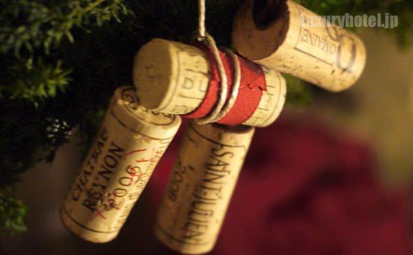 グランド ハイアット 東京 クリスマスツリーのコルクオーナメント2