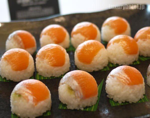 手毬寿司サーモン