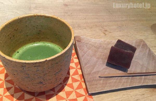 「HIGASHI-YAMA Tokyo」 抹茶と羊羹
