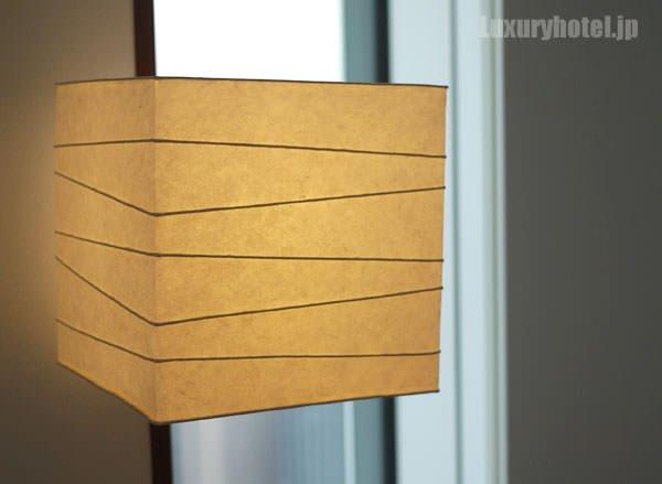 ランプシェードが和風なデザイン