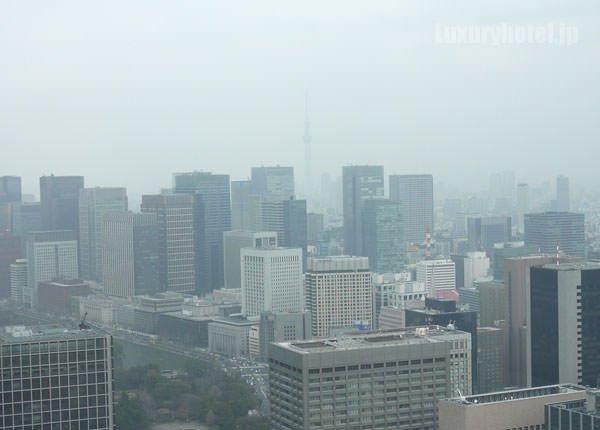 窓からの景色 東京スカイツリーが見える