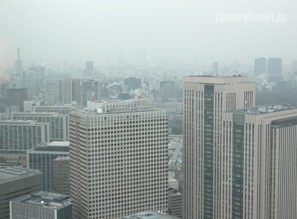 アンダーズ 東京の窓からの景色