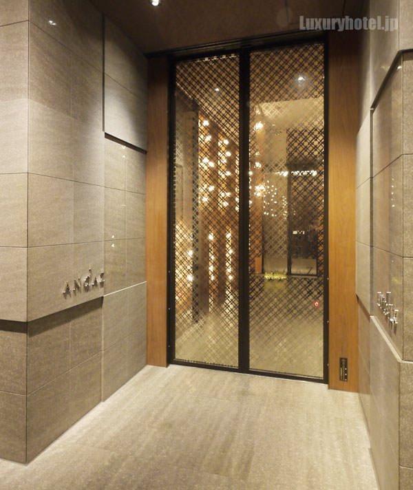 アンダーズ 東京 館内の入り口
