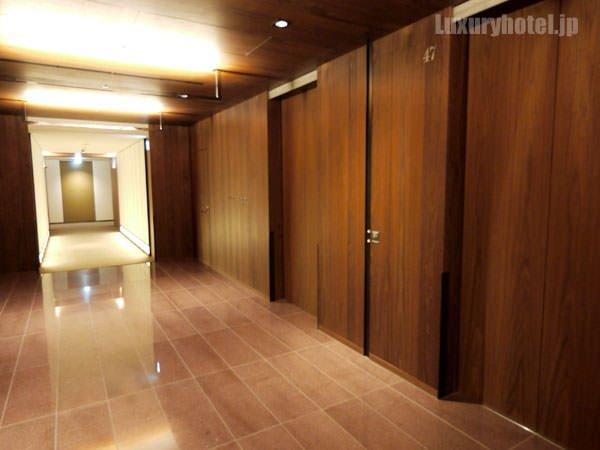 47Fのエレベーターホール