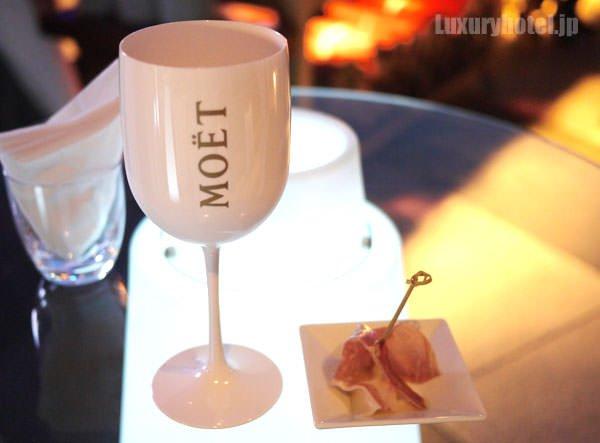 モエ・エ・シャンドン アイス インペリアルのグラス