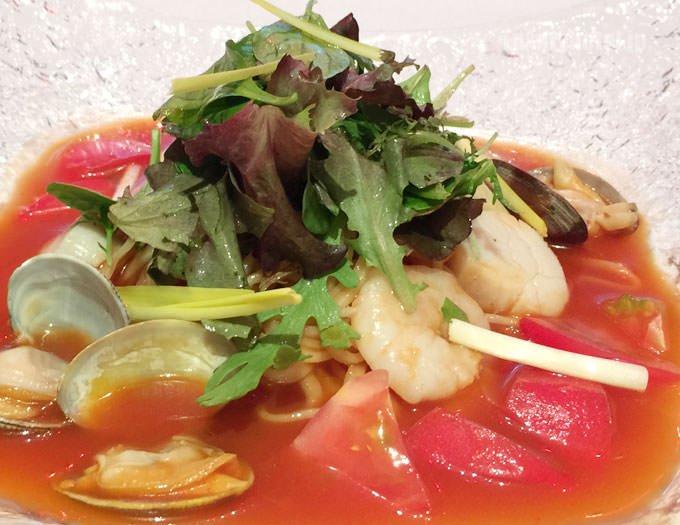 プチトマト50個分の濃厚なスープ