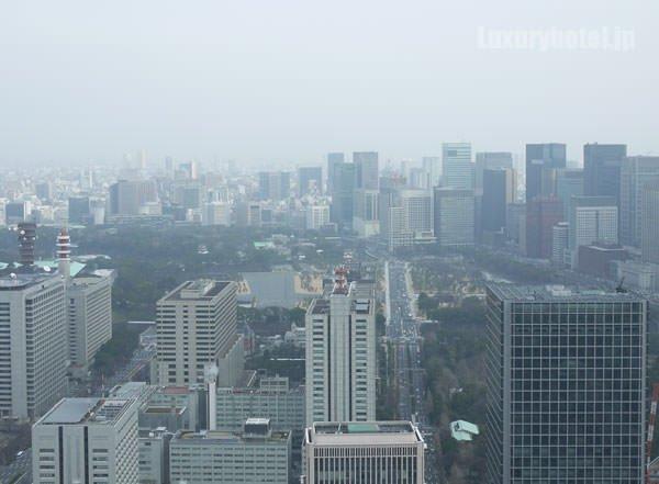 アンダーズ 東京からみた朝の景色