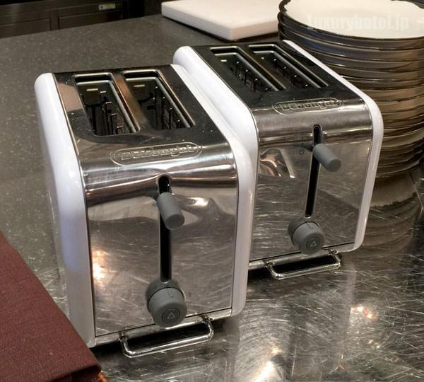 トースターで火を入れることもできます