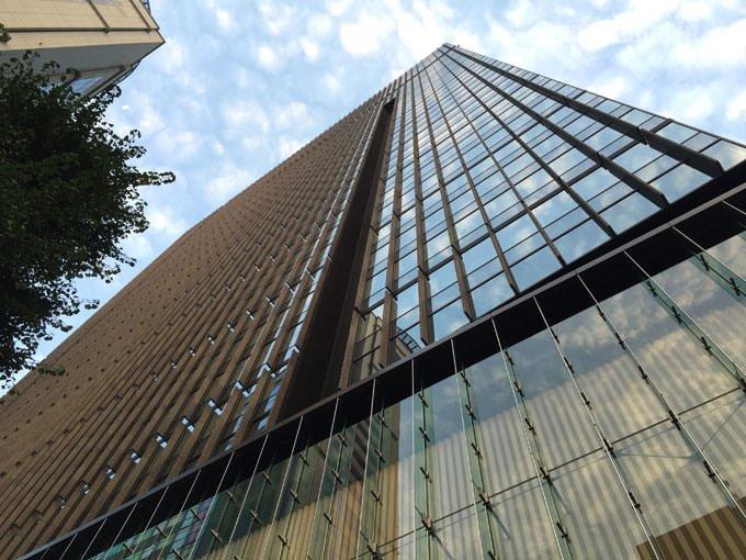 アマン東京 ホテル 外観