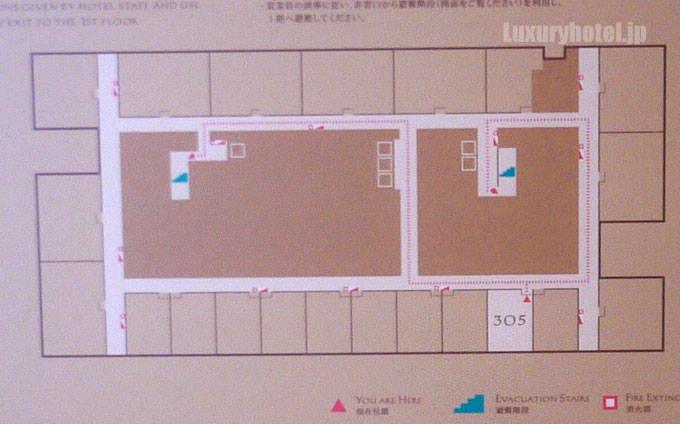 アマン東京フロア図