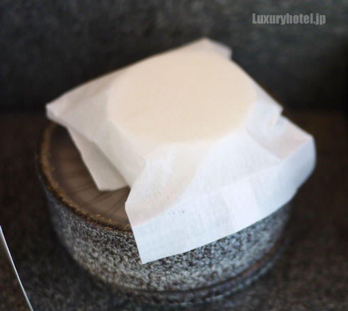 石鹸は白くてシンプル
