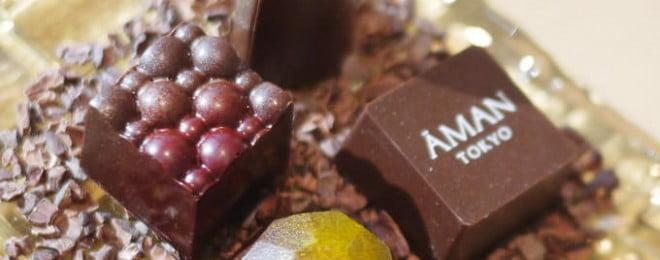 アマン東京のボンボンショコラ4種類