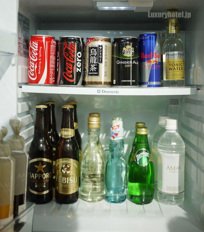 ミニバーの冷蔵庫 タイトル画像