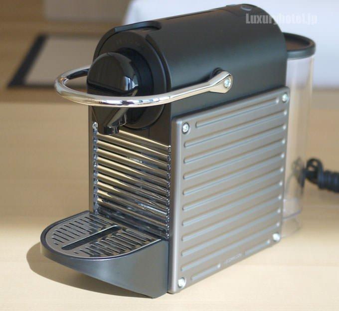 ネスプレッソのコーヒーメーカー「ピクシークリップ」