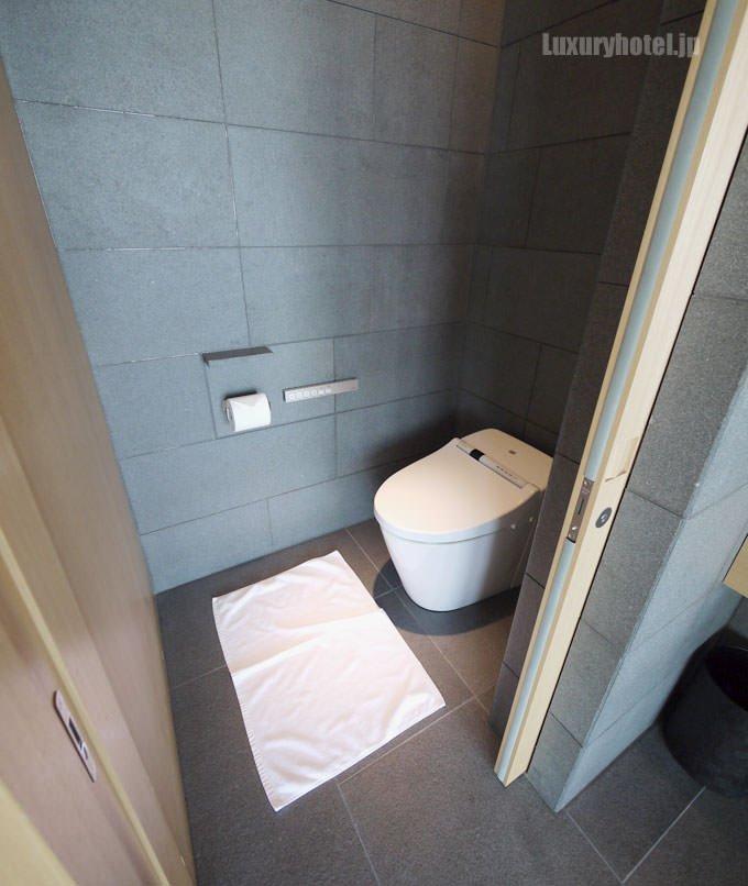 トイレのドアを開けたところ