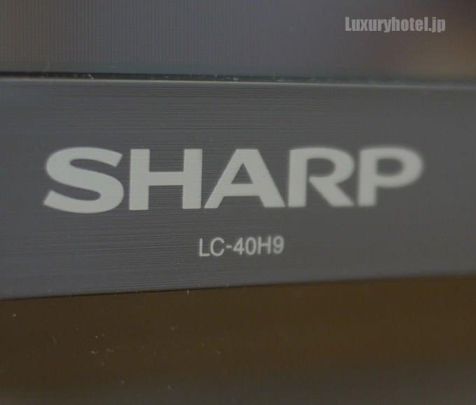 テレビはシャープのLC-40H9