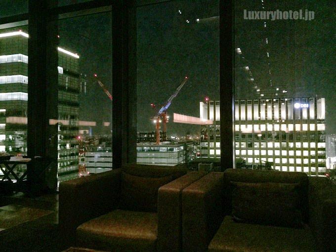 「ザ・ラウンジ by アマン」からの夜景