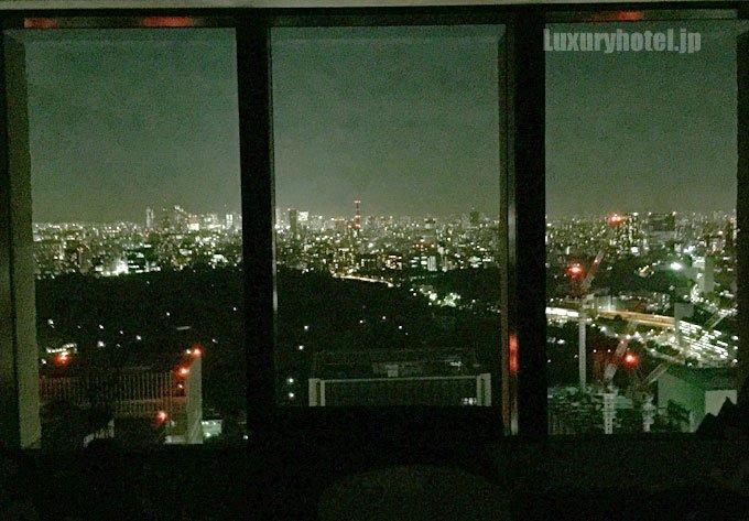 アマン東京の部屋から見た夜景