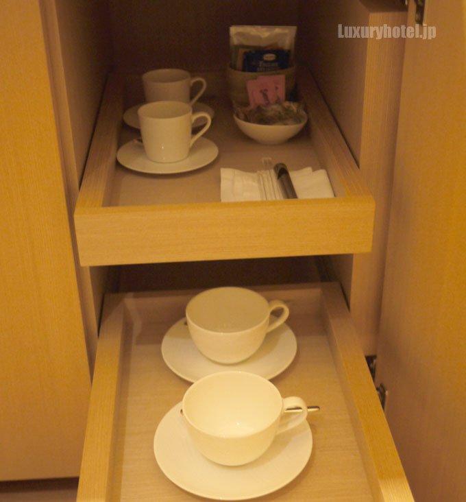 使用したコーヒーカップはすべて綺麗に