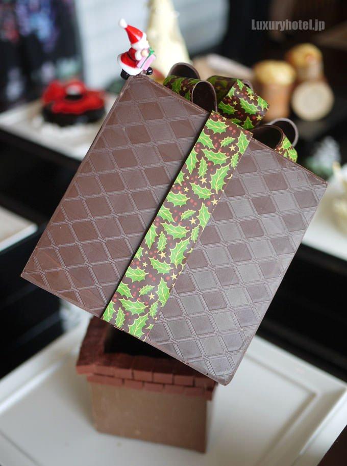 プレゼントボックスの装飾も綺麗