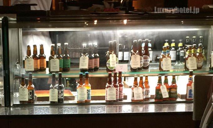 パーク ハイアット 東京 パーク ブリュワリー 地ビール16種から3本を選べる