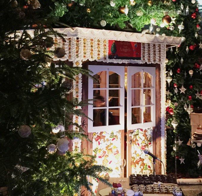 グランド ハイアット 東京 クリスマスチャリティーイベント お菓子の家