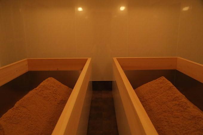 ハイアットリージェンシー 京都 酵素浴の浴槽