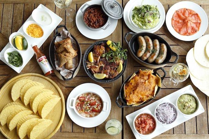 ブラジル料理とメキシコ料理 一覧