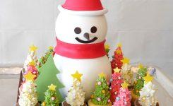 パレスホテル東京 クリスマスケーキ ボノム・ド・ネージュ