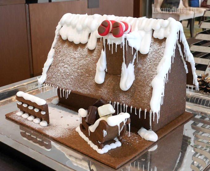 パレスホテル東京 クリスマスケーキ ヘクセンハウス