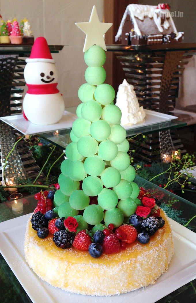 パレスホテル東京 クリスマスケーキ サパン・ド・ノエル