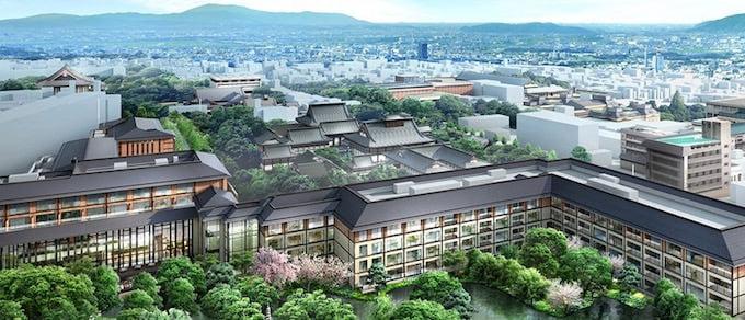 フォーシーズンズホテル京都 外観