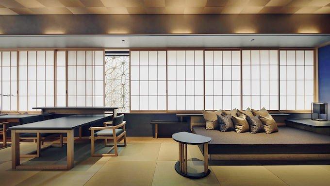 星のや東京 客室 菊 部屋画像