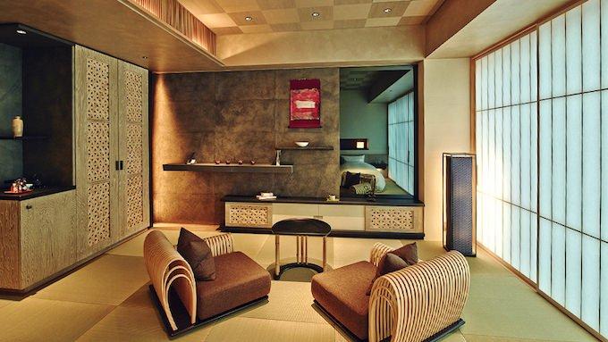 星のや東京 客室 百合と桜 部屋画像