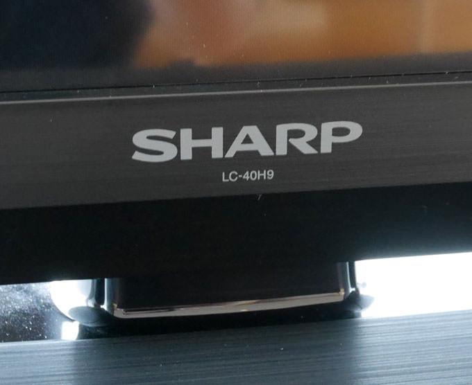 テレビはシャープ製
