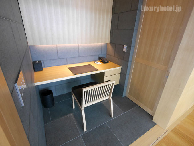 アマン東京コーナースイートの隠し部屋