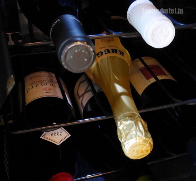 ワインセラーの中身