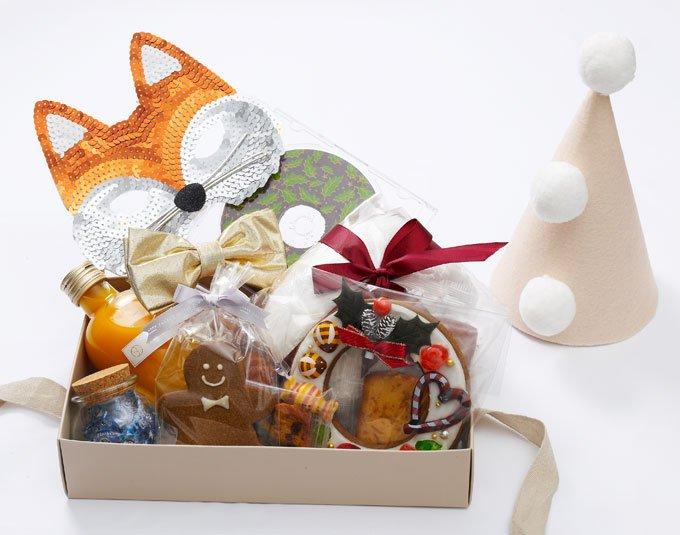 クリスマスハンパー CircusBox ベージュ