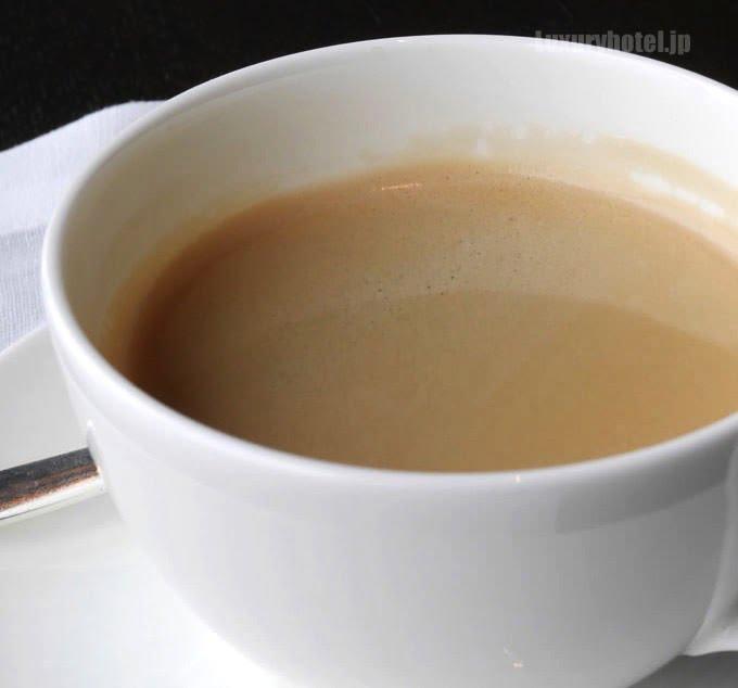 最後はコーヒーか紅茶が出てくる 自分で選べる
