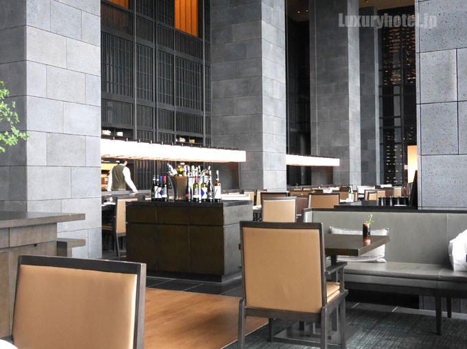 ザ・レストラン by アマン テーブル席